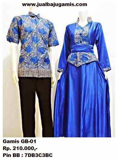 Gambar Baju Gamis Batik