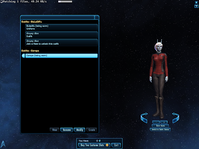 Star Trek Online - Changing Outfits