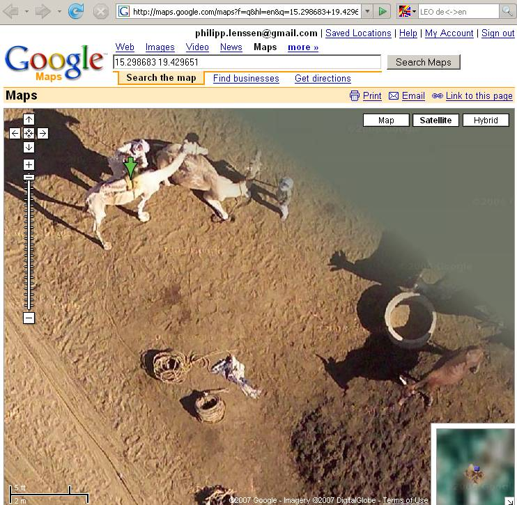 how to put a google map on html