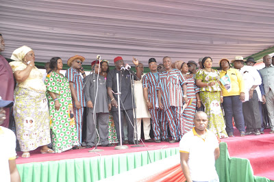 Eket Youths celebrate Udobia, pledge allegiance to Udom-led Govt