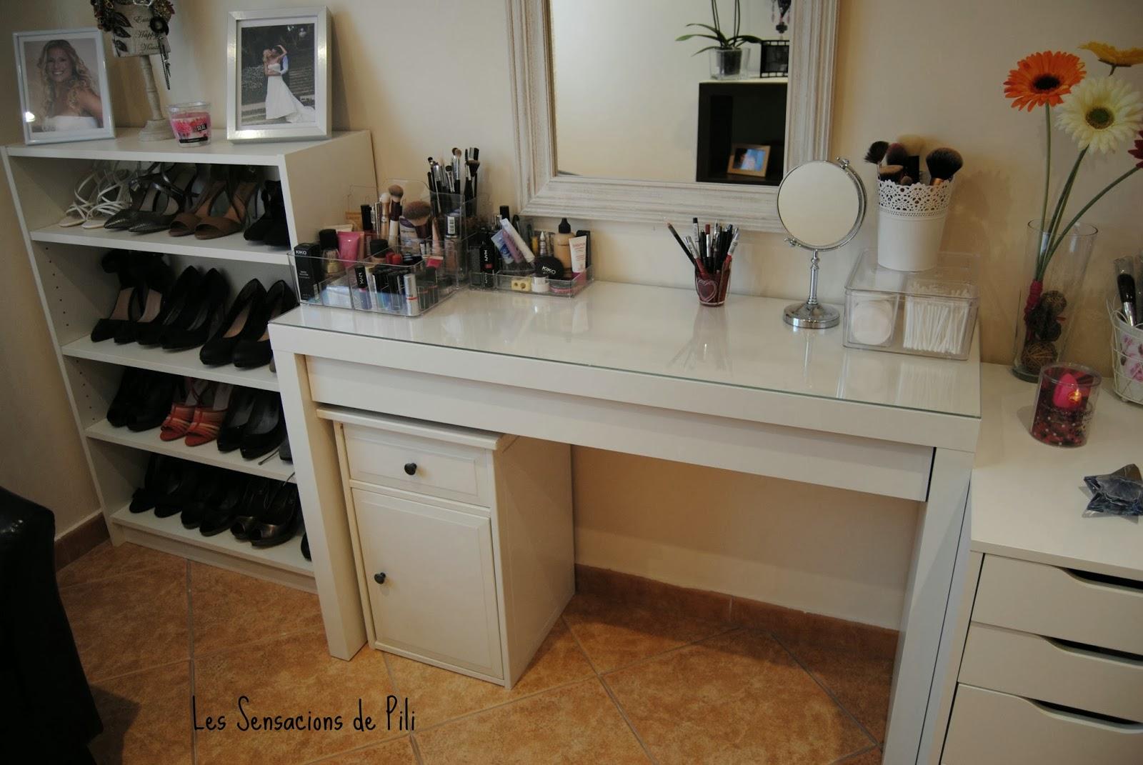 mueble para maquillaje con luz les sensacions de pili mi nuevo tocador