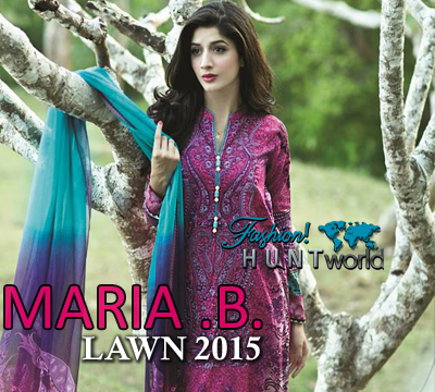 Maria B Lawn 2015 Catalog