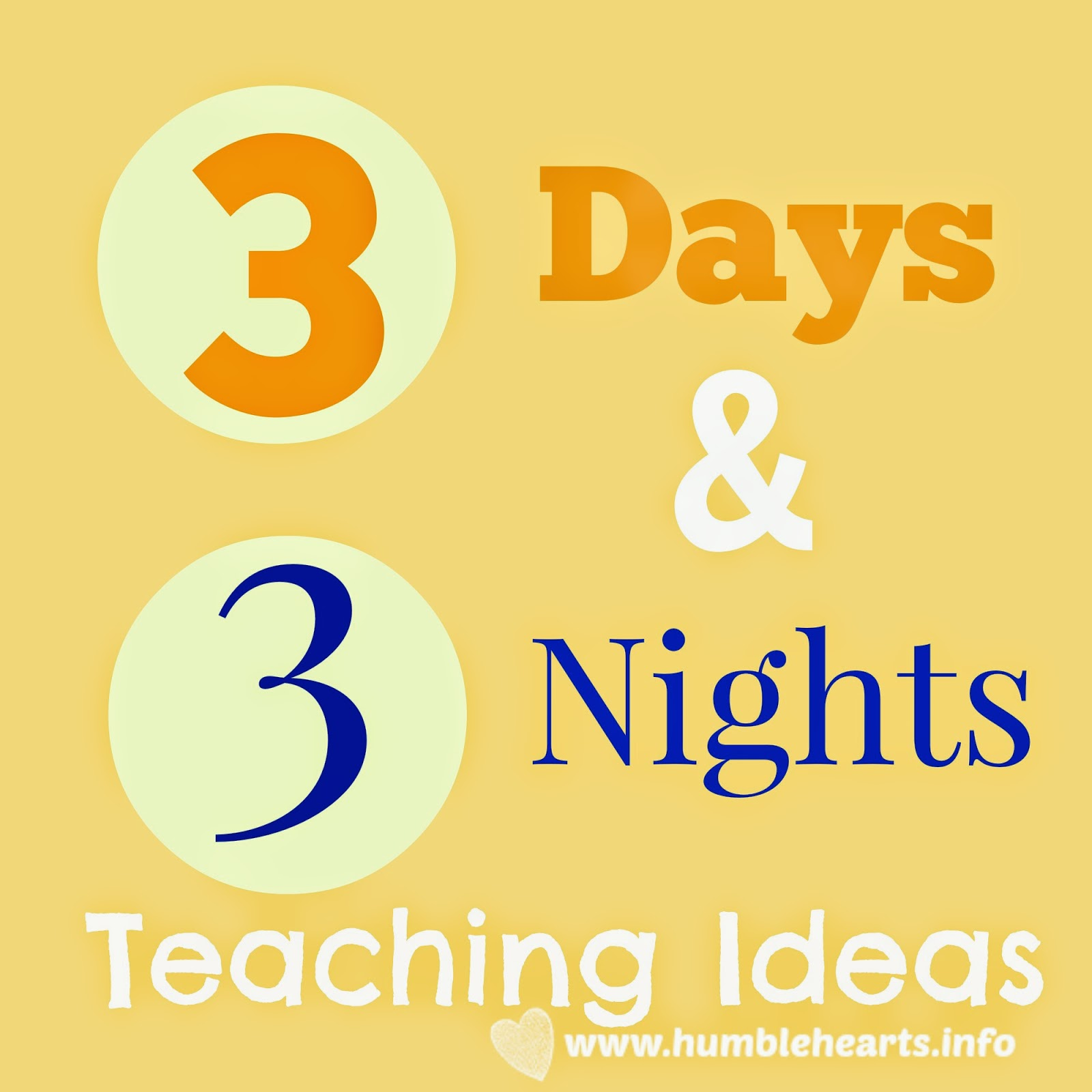 3 days and 3 nights teaching ideas humble hearts for Teach a man to fish bible verse
