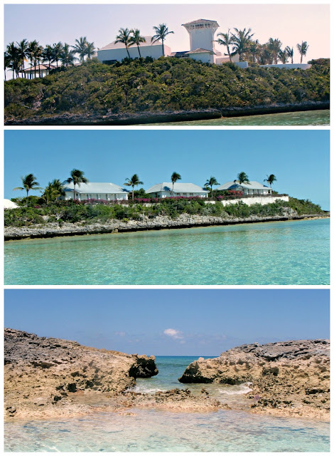 Tim McGraw & Faith Hill private island in bahamas