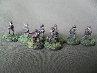 Hammer's Slammers Infantry from Ground Zero Games