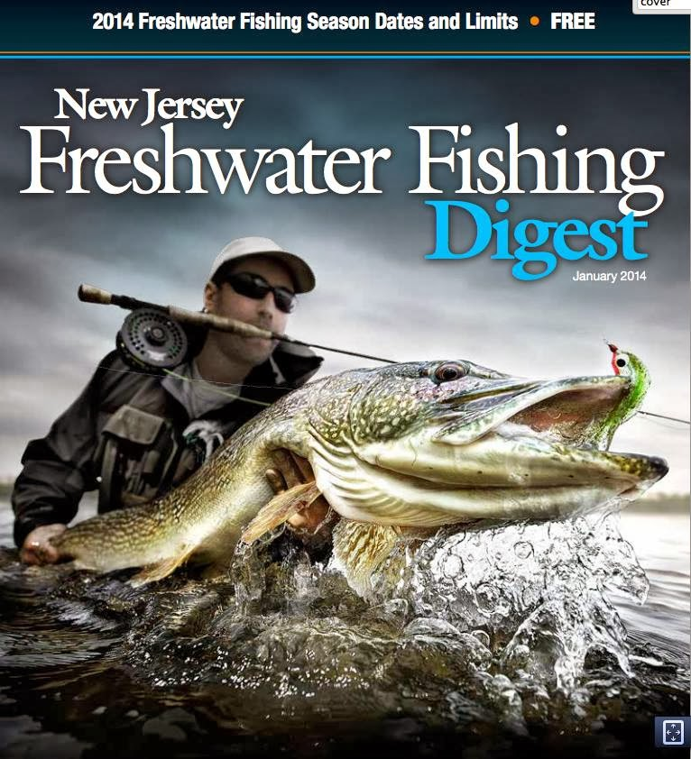 The average angler get a load of the 2014 new for Nj freshwater fishing license