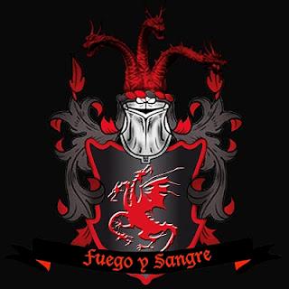logo familia Targaryen - Juego de Tronos en los siete reinos