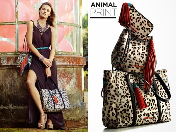 accesorios de moda El Corte Inglés primavera verano 2015 bolsos print animal