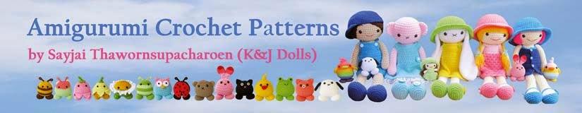 Modèles au crochet Amigurumi - K et J Dolls