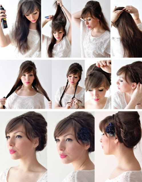 Hairstyles Xy : different hairstyles tutorials DIY