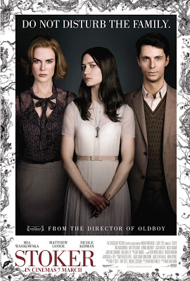 Stoker 2013 film large movie poster