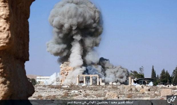 Estado Islâmico destrói templo de Bel, na Síria