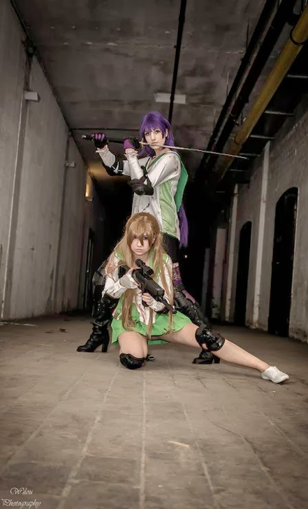 Highschool of the Dead - Saeko e Rei