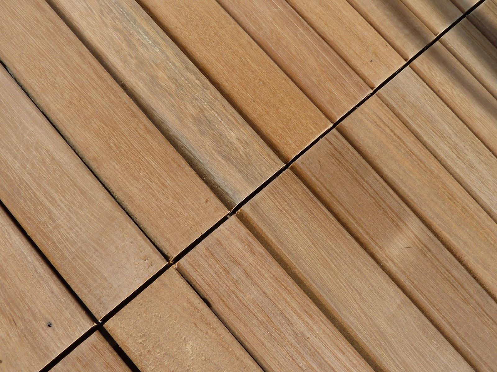 Disabella design new improved roof deck teak tiles