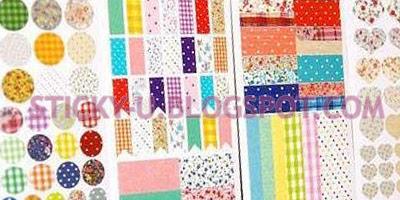 001: Holly's Fabric Print Sticker
