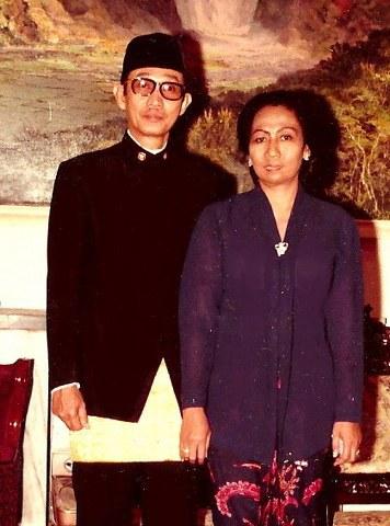 YM Fawzi Abdulrani & Ibu Setia Nurul Muliawati Moe'min Duta Besar RI di Islamabad