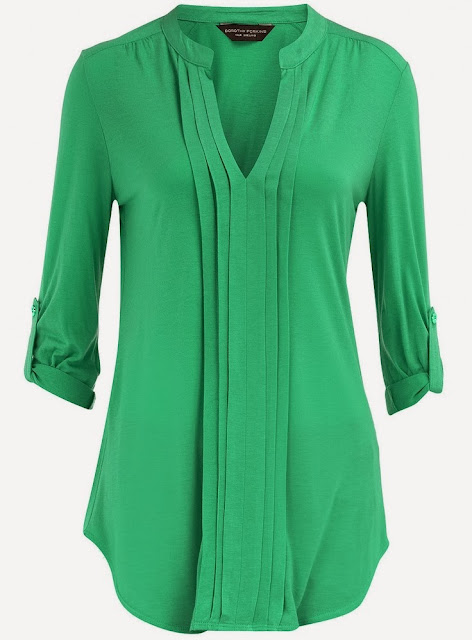 Green Plate  Long Sleeves Shirt