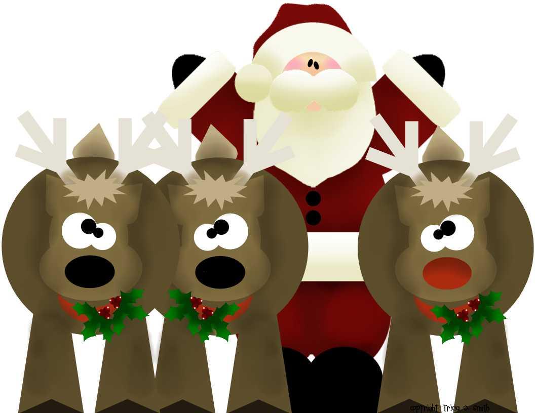Prepared NOT Scared!: Santa's Reindeer!