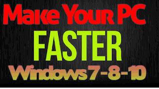 Make pc faster