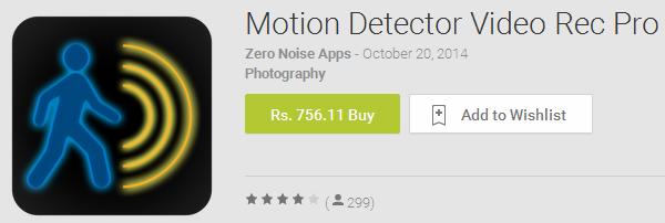 motion detector pro paid apk