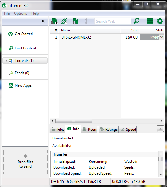 To tweak utorrent settings open your torrent and follow the settings