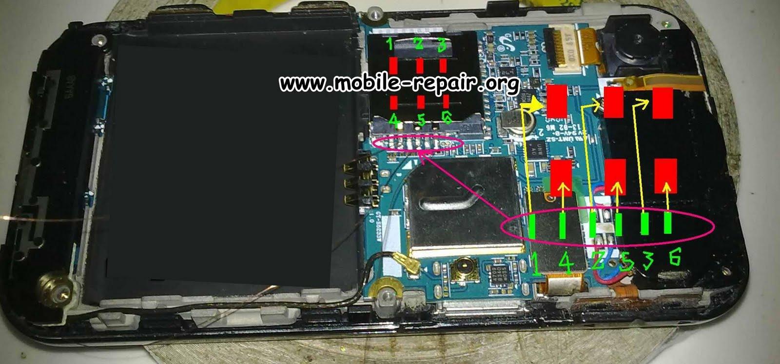 Samsung S5233 Insert Sim Card Problem