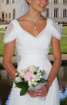 Bouquet mariée rose pale blog mariage