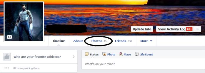 cara membuat album foto facebook 1