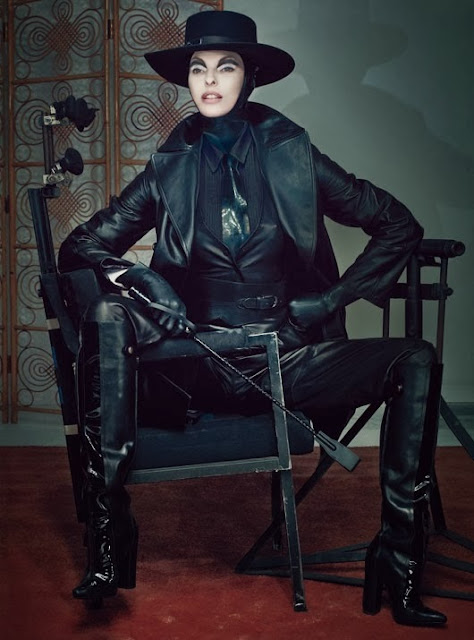 Fetish Inspirations : Linda Evangelista Photographs By Steven Klein
