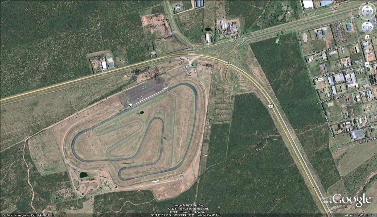 Circuito San Nicolas : Circuiti chi è dentro fuori pagina formula