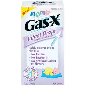 Gas drops infants