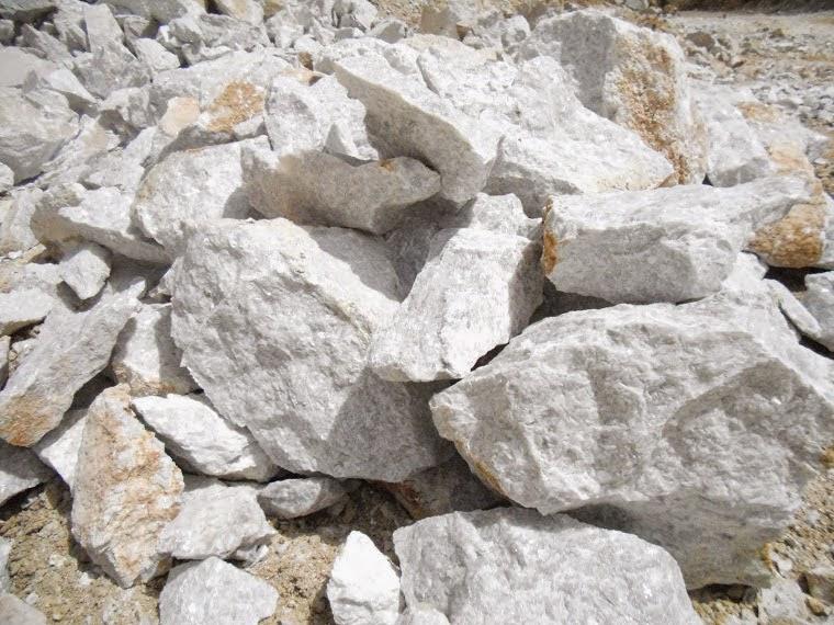 Pedras calcárias