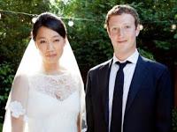 مؤسس فيسبوك وزوجته