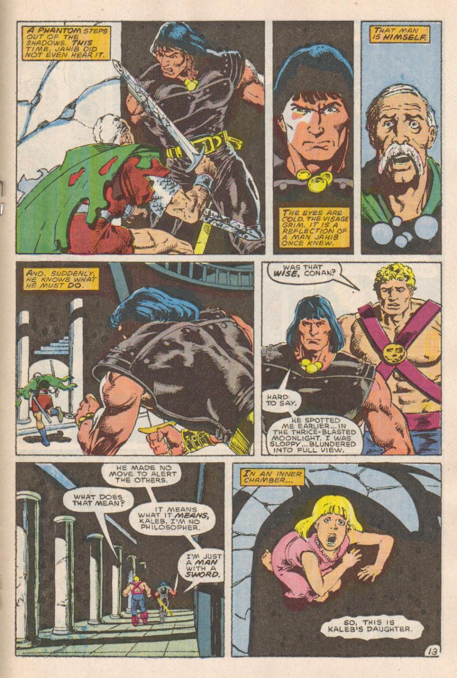Conan the Barbarian (1970) Issue #191 #203 - English 14