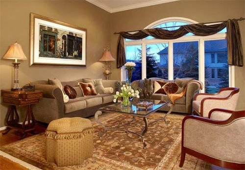 Arabian living room with beige color living room ideas for Arabic living room decoration