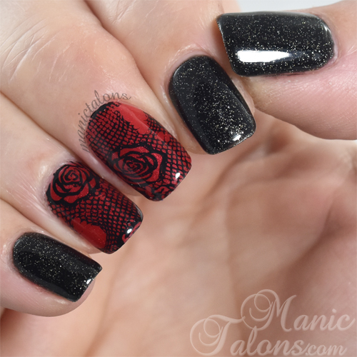 Anti-Valentine's Day Nail Art
