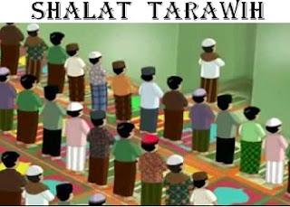 Shalat Tarawih di Bulan Ramadhan
