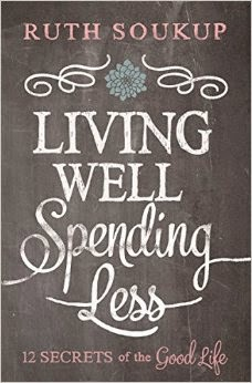 http://www.amazon.com/Living-Well-Spending-Less-Secrets/dp/0310337674