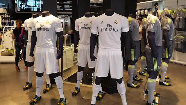adidas tiene las camisetas más caras de la Champions