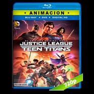 Justice League vs Teen Titans (2016) BRRip 720p Audio Dual Latino-Ingles