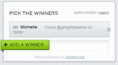 rafflecopter winner