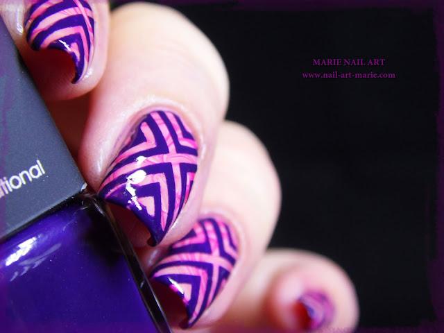 Vidéo Nail Art Water Marble et Nail Vinyls