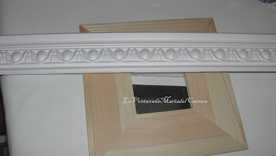 Manualidades la ventana de maria del carmen decoraci n - Leroy merlin marcos 30x40 ...