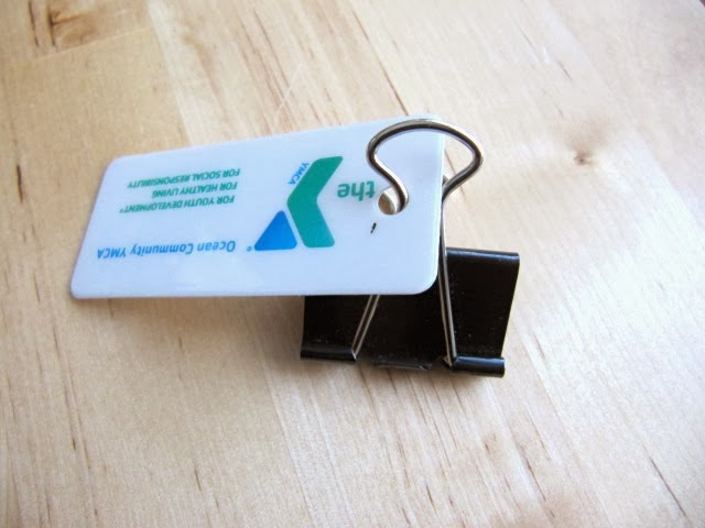 earbud binder clip