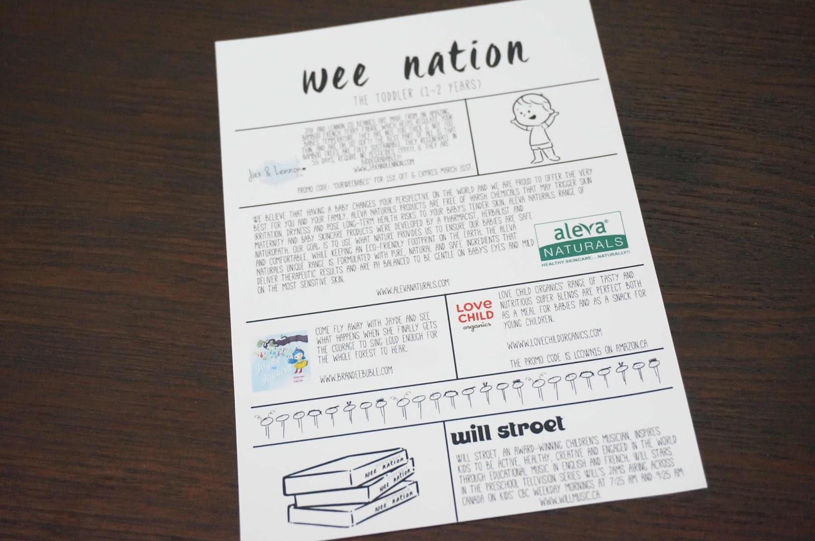 Do It Like Doli: Unboxing: WeeNation Baby/Kid Monthly ...