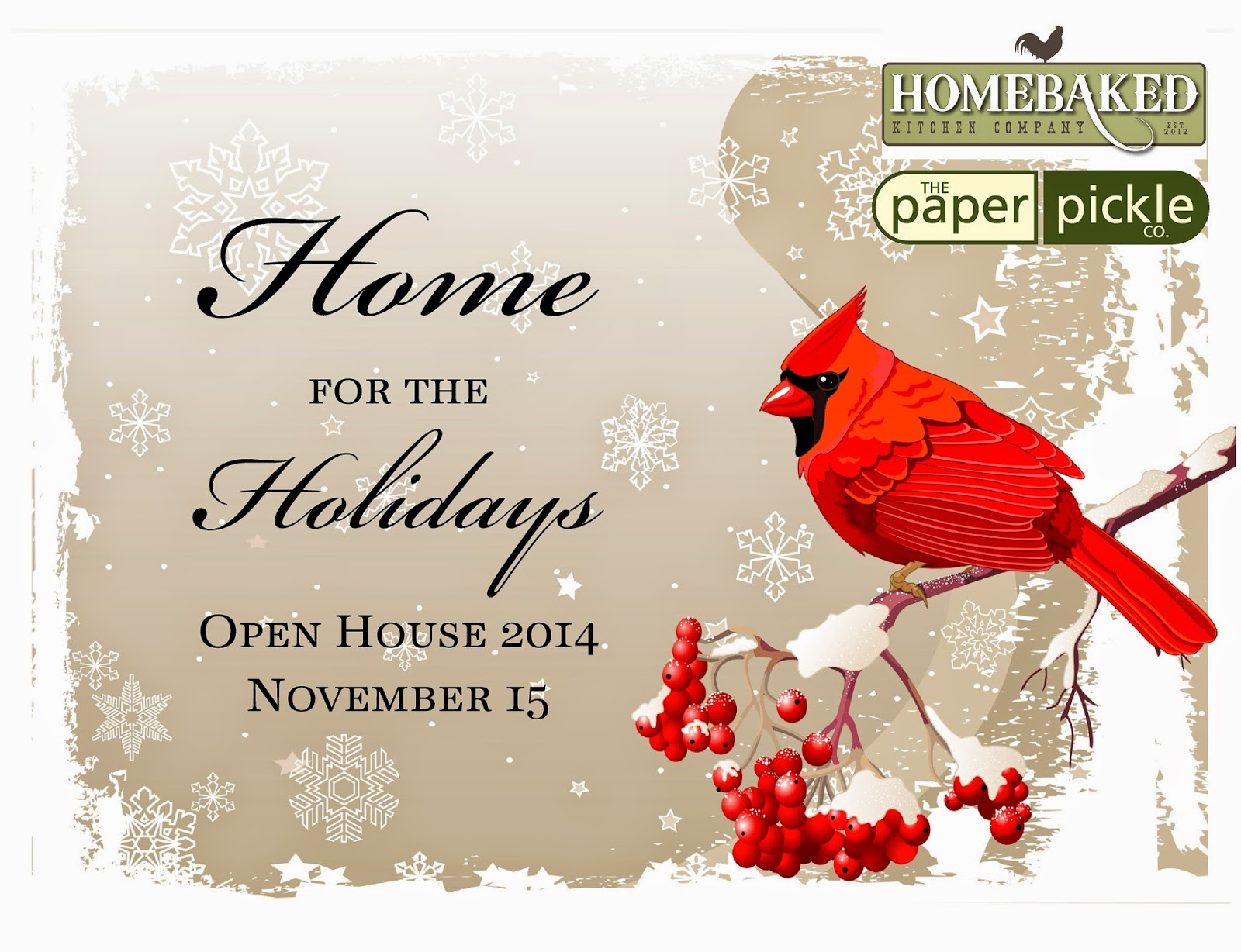 The Paper Pickle Co.: Christmas Open House - TODAY 10am-4pm