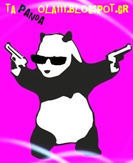 panda bear, funny, quiz, game, mind tricks, shooting, waitress, tapandaola111, greg dallas