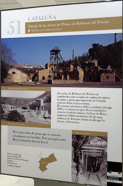 Paisaje de las minas de Plomo de Bellmut de Priorat