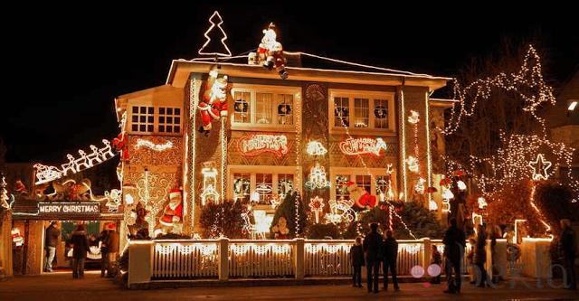 Events maresme decoracion de fachadas de navidad - Decoracion casa en navidad ...