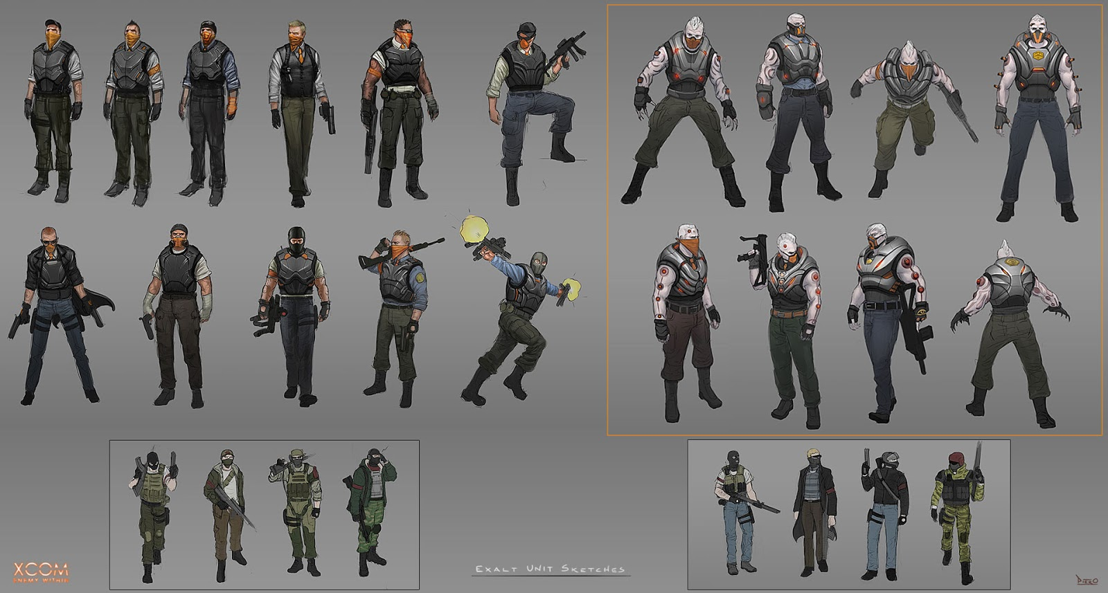 Piero Macgowan - Blog: XCOM: Enemy Within Concept Art